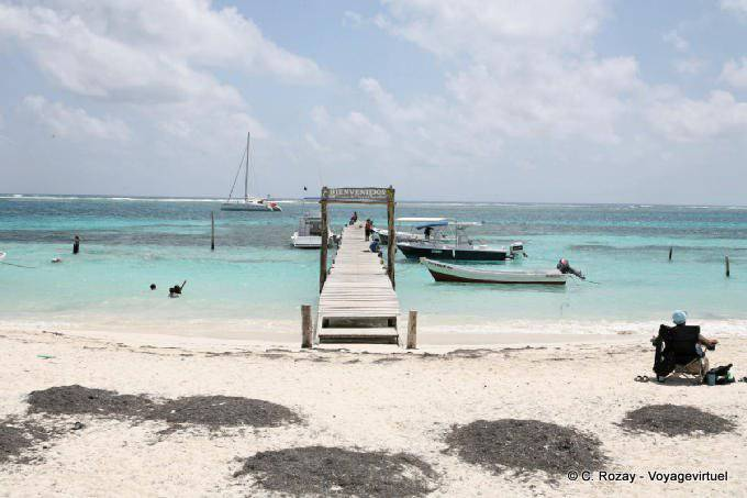 Puerto Morelos Ponton Bienvenidos 28