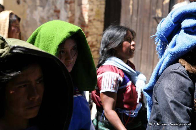 San Cristobal De Las Casas Manifestation Religieuse Paques 11