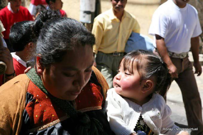 San Cristobal De Las Casas Manifestation Religieuse Paques 14