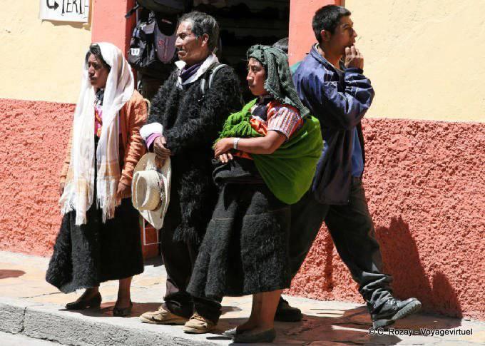 San Cristobal De Las Casas Manifestation Religieuse Paques 16