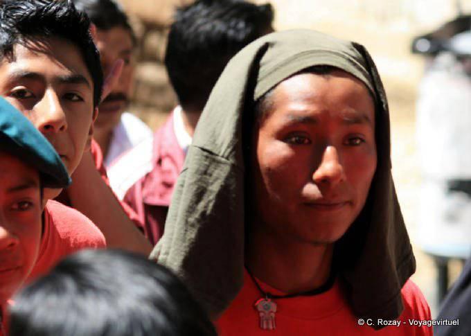 San Cristobal De Las Casas Manifestation Religieuse Paques 29