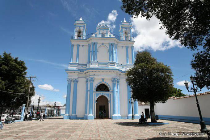 San Cristobal De Las Casas Santa Lucia Iglesia 2