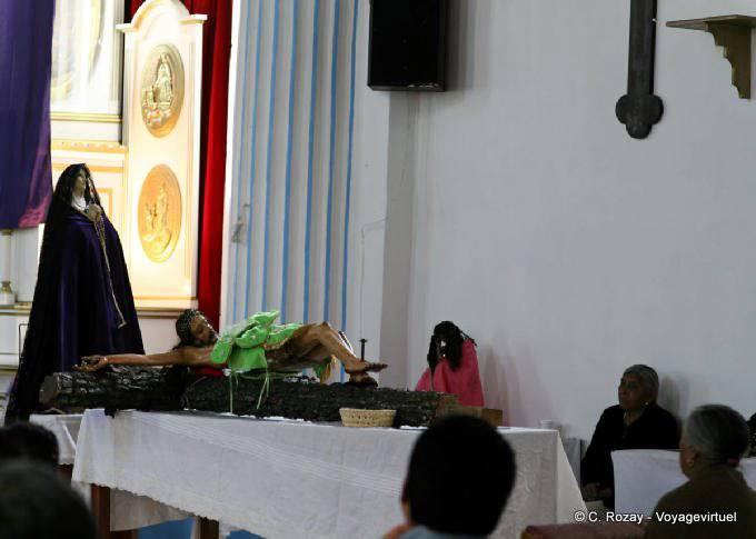 San Cristobal De Las Casas Santa Lucia Iglesia Sur La Croix 8