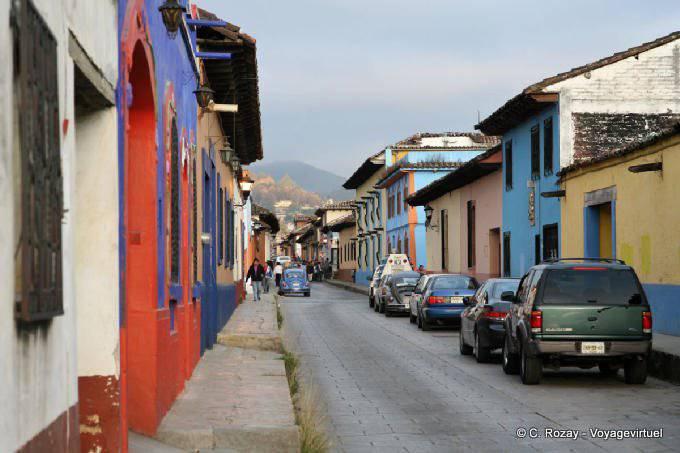 San Cristobal De Las Casas Street
