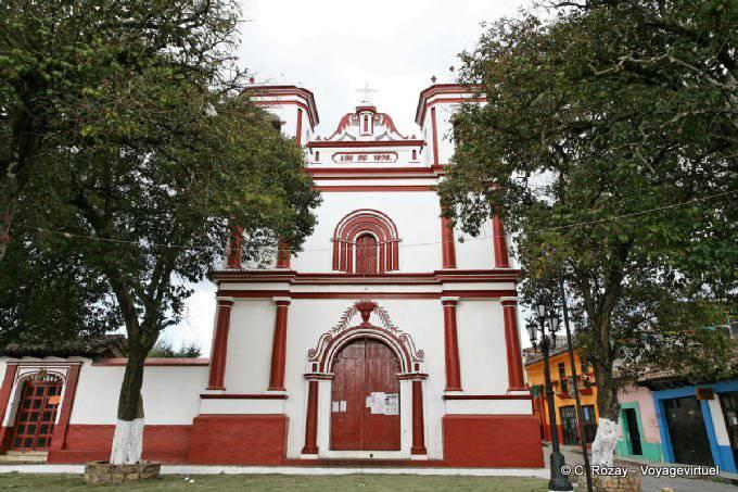 San Cristobal De Las Casas Templo Del Cerrillo 2