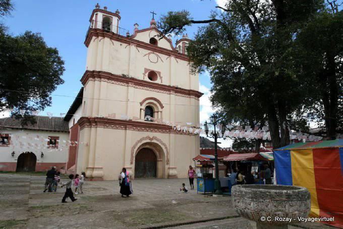 San Cristobal De Las Casas Templo San Francisco 1
