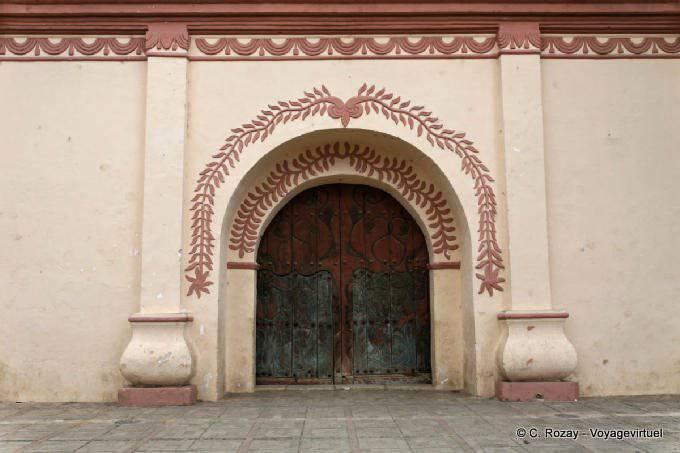San Cristobal De Las Casas Templo San Francisco Porte