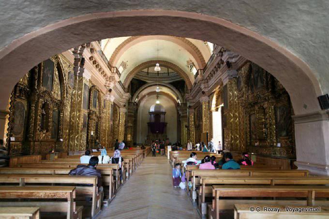 San Cristobal De Las Casas Templo Santo Domingo Nef 1