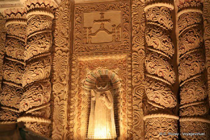 San Cristobal de la Casas, templo Santo Domingo 3