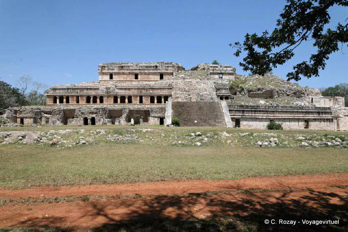 Sayil Panorama Palacio Norte 20