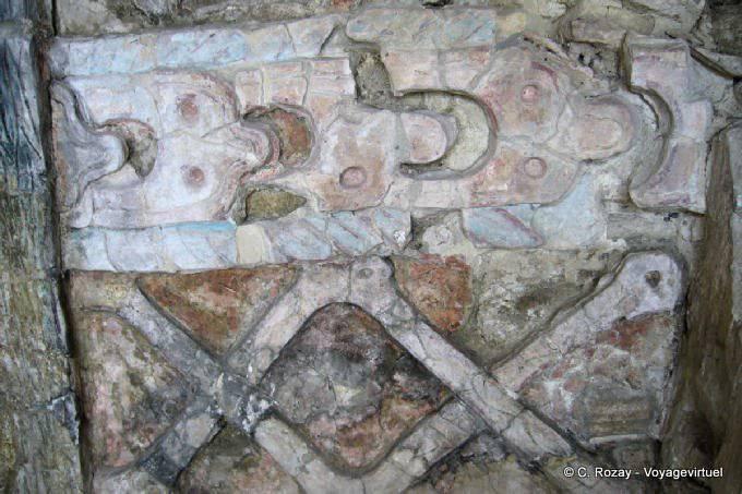 Toniná cité maya 142