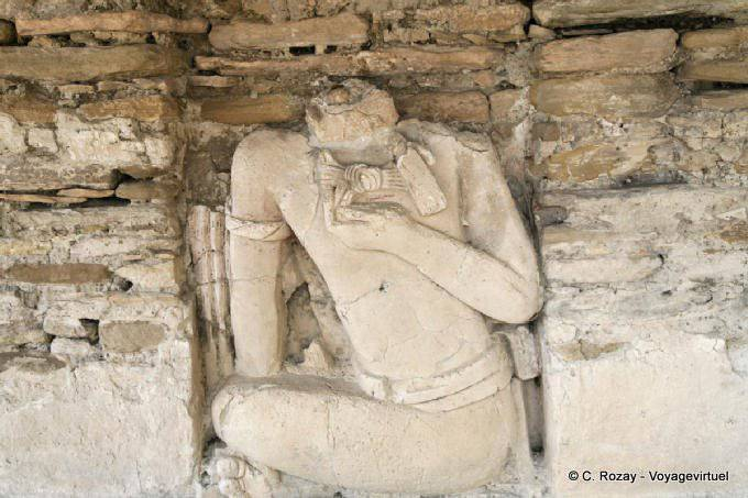 Toniná cité maya 22