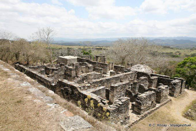 Toniná cité maya 28