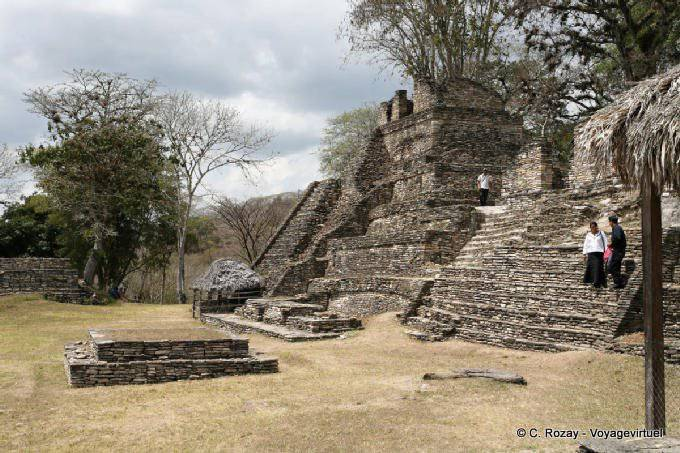 Toniná cité maya 29