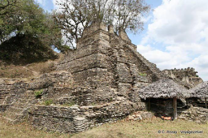 Toniná cité maya 36