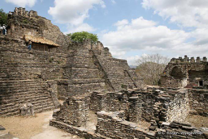 Toniná cité maya 38