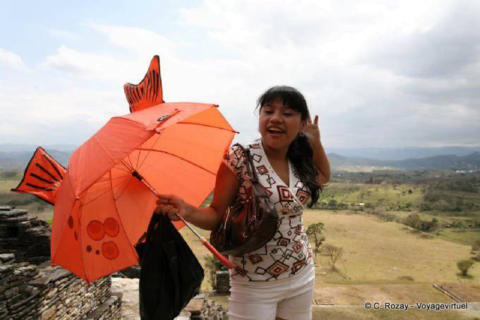 Tonina Mexicaine Au Parapluie 8