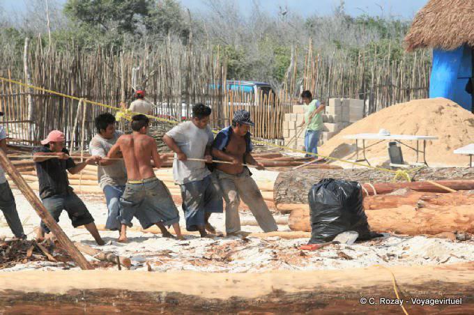 Tulum Plage Travailleurs Du Batiment 14