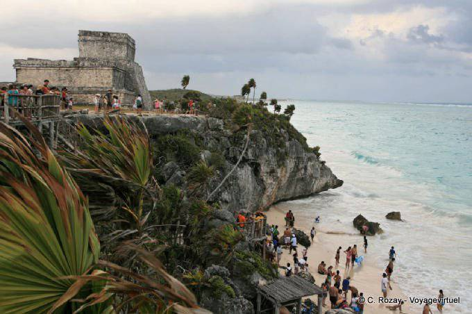 Tulum Site El Castillo Beach 3