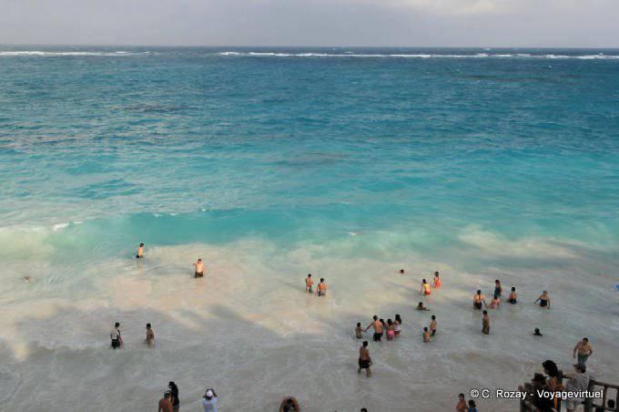 Tulum Site El Castillo Beach