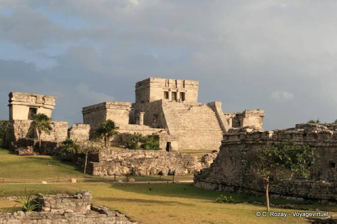 Tulum Site Panorama El Castillo 6