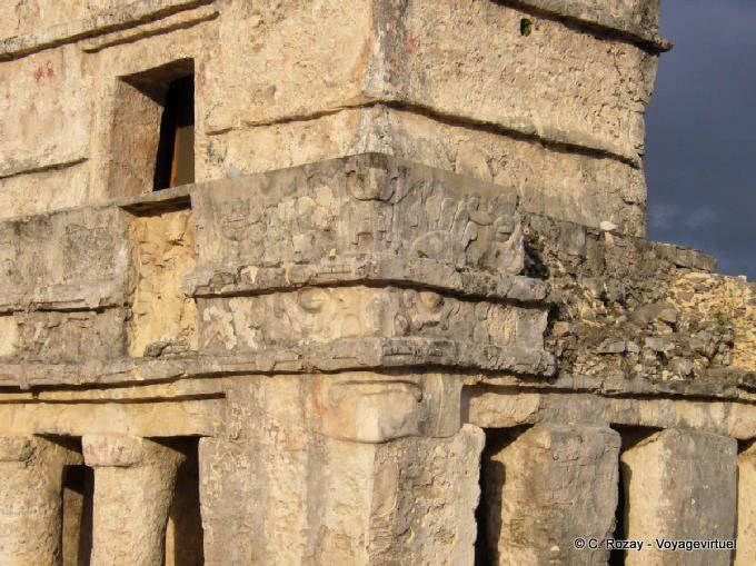 Tulum Site Templo De Las Pinturas 1