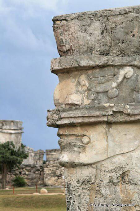 Tulum Site Templo De Las Pinturas 10