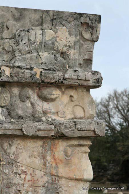 Tulum Site Templo De Las Pinturas 7