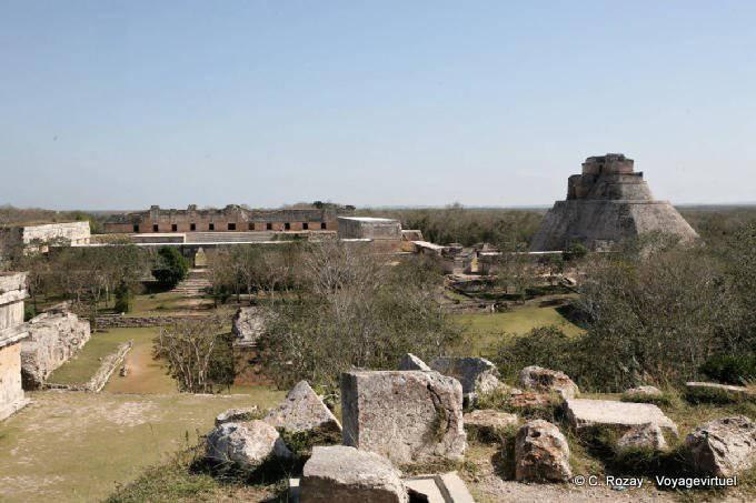 Uxmal  Panorama