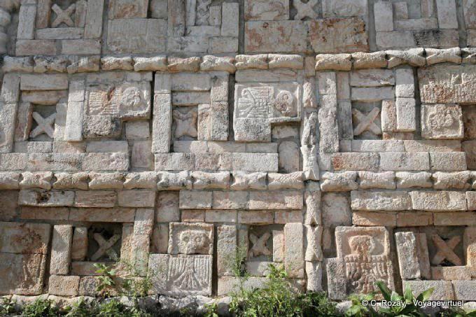 Uxmal Grande Pyramide Temple Des Perroquets 4