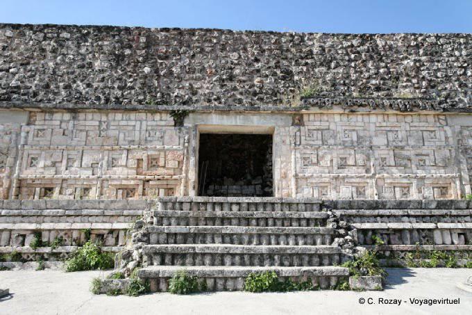 Uxmal Grande Pyramide Temple Des Perroquets Vue Generale 22