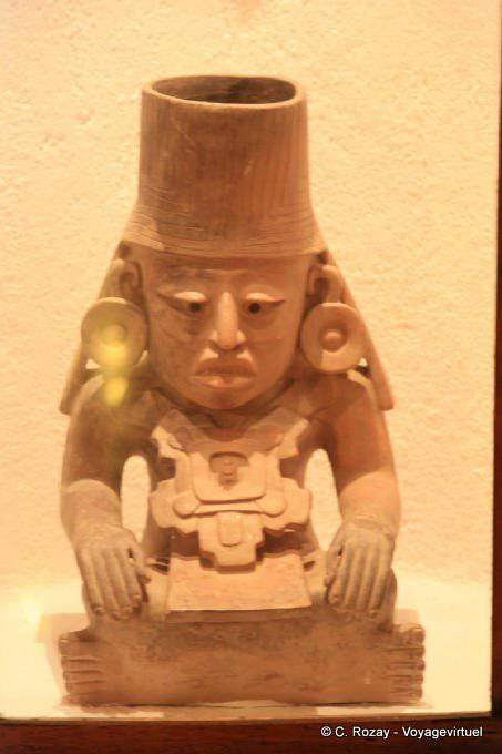Uxmal Museum Effigy Urn Of Chaac