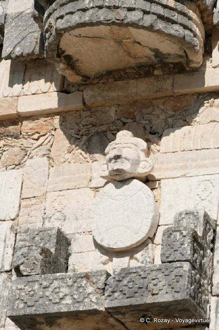Uxmal Quadrilatere Des Nonnes Effigy Of Chaac 7