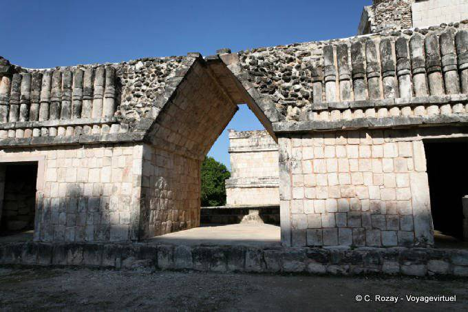 Uxmal Quadrilatere Des Nonnes Nunnery Quadrangle 14