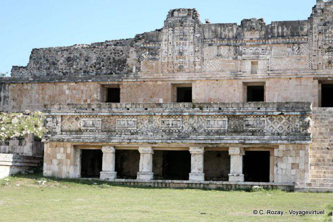 Uxmal Quadrilatere Des Nonnes Nunnery Quadrangle 18
