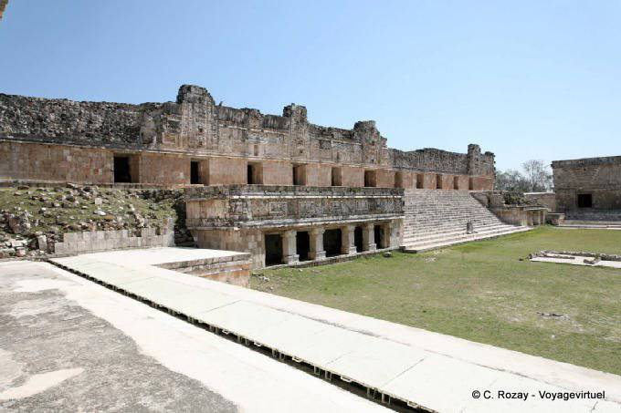 Uxmal Quadrilatere Des Nonnes Nunnery Quadrangle 27