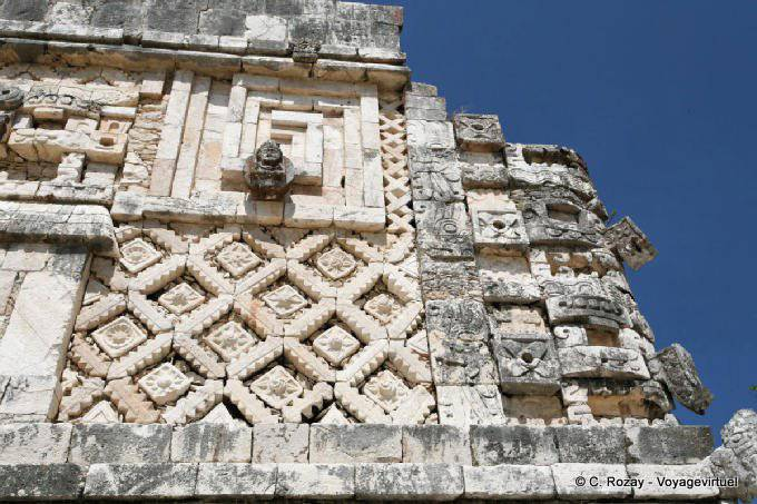 Uxmal Quadrilatere Des Nonnes Nunnery Quadrangle 29