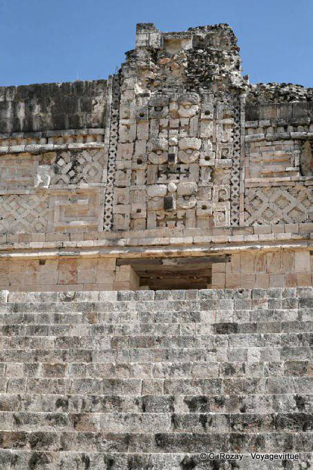 Uxmal Quadrilatere Des Nonnes Nunnery Quadrangle 31