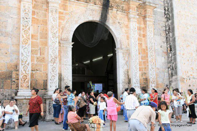 Valladolid Catedral Portail Principale 8