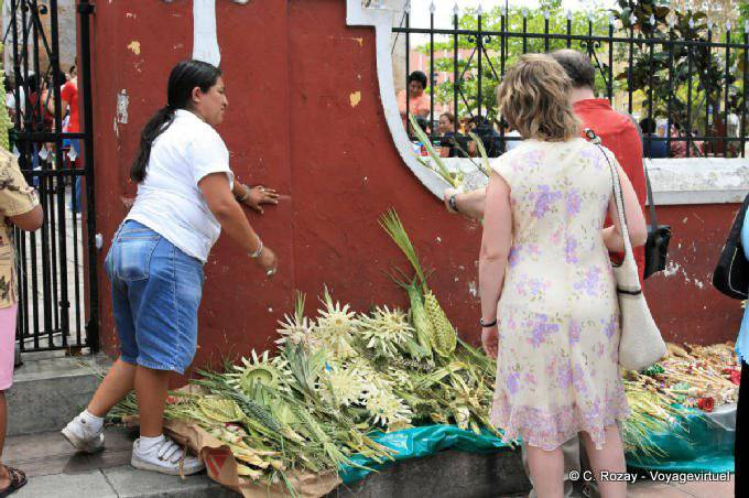 Valladolid Offarndes Religieuses Avant Paques 2