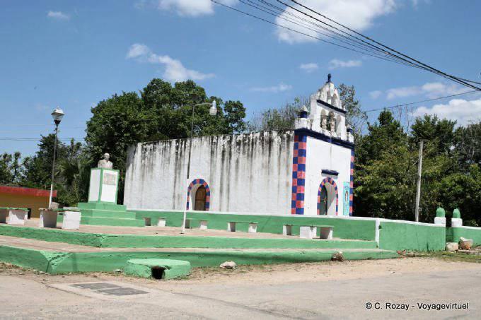 Yucatan Eglise A Damier 7