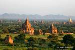 Panorama sur Bagan, Birmanie