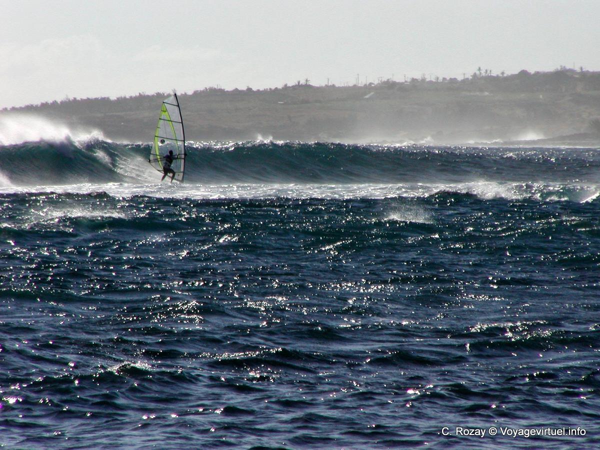 Windsurf Sur L Ocean Indien La Reunion