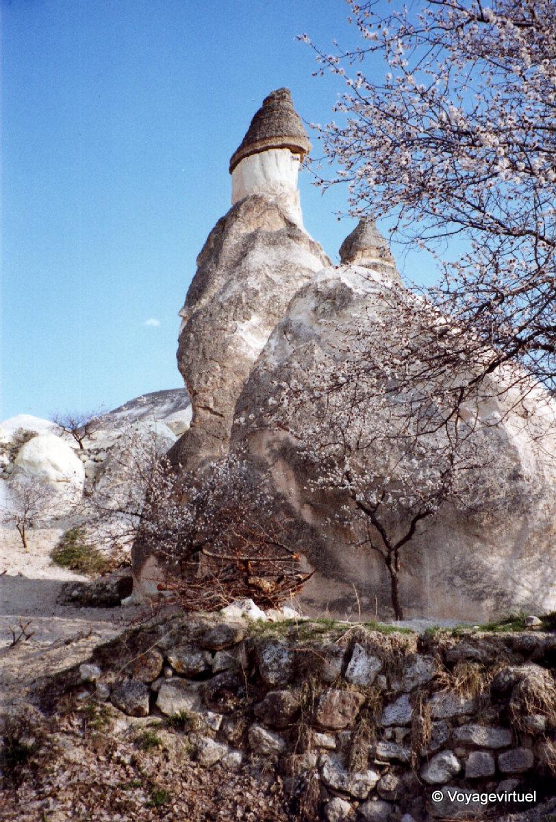 Cheminee De Fee Phallique Cappadoce Turquie