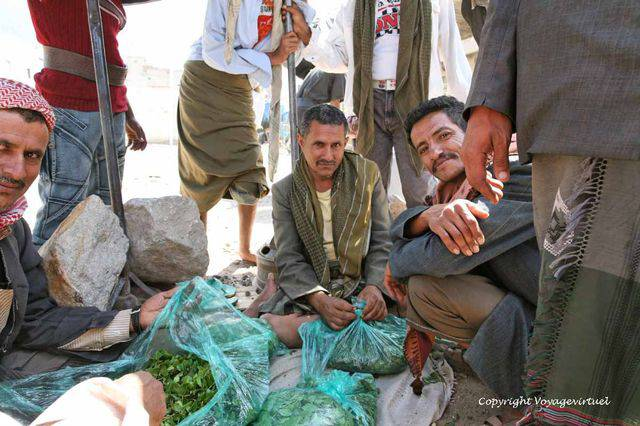 Taez Qat Market 2779